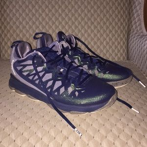 146af2df0e43 Nike Shoes - Nike Jordan CP3 VI navy basketball shoes